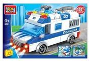 Конструктор ГОРОД МАСТЕРОВ Полиция 3061 Полицейская машина