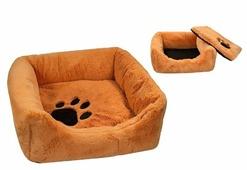 Лежак для кошек, для собак Zoo-M Belka (9311) 35х35х13 см