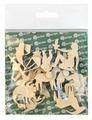 """Astra & Craft Деревянная заготовка для декорирования """"Знаки зодиака"""" L-213 (12 шт.)"""