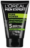 L'Oreal Paris L Oreal Paris Гель для умывания Men Expert Pure Power с черным углем