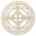 Astra & Craft Деревянная заготовка Крышка Круг 3 (L-1012)