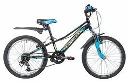 Подростковый горный (MTB) велосипед Novatrack Valiant 20 (2019)