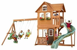 Домик Selwood Products Stonefield Lodge Climbing Frame