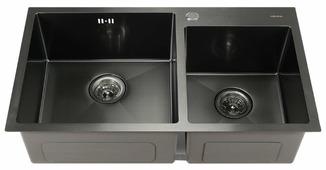 Врезная кухонная мойка MELANA MLN-8045