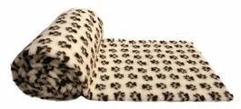 Коврик для кошек, для собак ProFleece меховой с лапками 160х100 см