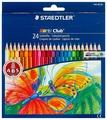 Staedtler Карандаши цветные Noris club 24 цвета (144 NC24)
