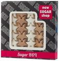 Сахар New SUGAR shop фигурный Sugar BOX Звёздочки сахарные тростниковые и белые