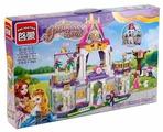 Конструктор Qman Princess Leah 2611 Замок принцессы