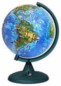 Глобус зоогеографический Глобусный мир Детский 210 мм (16005)