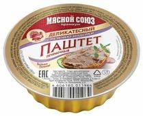 Паштет Мясной Союз Деликатесный с печенью индейки 95 г