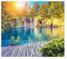 Фотообои бумажные Симфония Плитвитские озера 2.1х2м