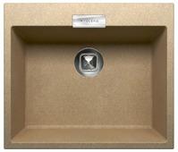 Врезная кухонная мойка Tolero Loft TL-580 58х50см полимер
