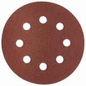 Шлифовальный круг на липучке ЗУБР 35562-125-080 125 мм 5 шт
