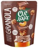 Гранола Ол' Лайт шоколадная с орехами, дой-пак