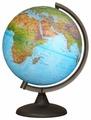 Глобус физико-политический Глобусный мир Двойная карта 250 мм (10166)