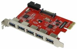 USB 3.1 Gen1 контроллер ORIENT VA-3U5219PE