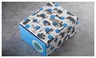 Коробка подарочная ВкусВилл мужская с обечайкой