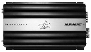 Автомобильный усилитель Alphard Deaf Bonce DB-2000.1D