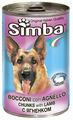 Корм для собак Simba Консервы Кусочки для собак Ягненок