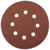Шлифовальный круг на липучке ЗУБР 35562-125-600 125 мм 5 шт