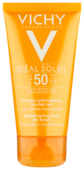 Vichy эмульсия Capital Ideal Soleil Mattifying Face Dry Touch SPF 50