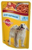 Корм для щенков Pedigree для здоровья кожи и шерсти, для здоровья костей и суставов, говядина