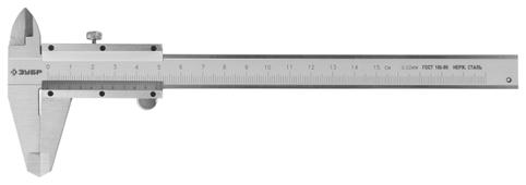 Нониусный штангенциркуль ЗУБР Эксперт 34512-150 150 мм, 0.05 мм