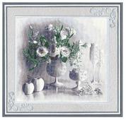 Золотое Руно Набор для вышивания Белый натюрморт 45 х 40 см (СЖ-012)