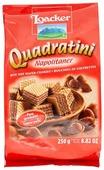 Вафли Loacker Quadratini Napolitaner ореховые 250 г
