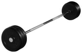 Набор спортивных штанг MB Barbell неразборная MB-BarMW-B 35 кг