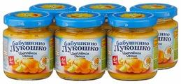 Пюре Бабушкино Лукошко Цыпленок-овощи (с 6 месяцев) 100 г, 6 шт