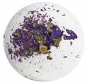 Лаборатория Катрин Бурлящий шар для ванн С лепестками василька и мальвы 130 г