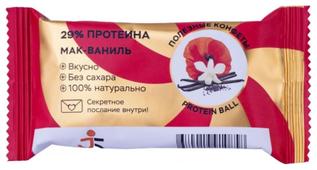 Протеиновый батончик Jump Healthy Ball Protein Мак-ваниль, 28 г