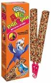 Лакомство для птиц Зоомир Веселый Попугай с фруктами для волнистых попугаев