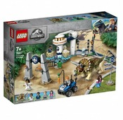 Конструктор LEGO Jurassic World 75937 Нападение трицератопса