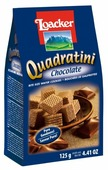 Вафли Loacker Quadratini Chocolate 125 г