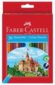 Faber-Castell Карандаши цветные Замок с точилкой 36 цветов (120136)