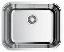 Интегрированная кухонная мойка OMOIKIRI Omi 54-U/IF-IN