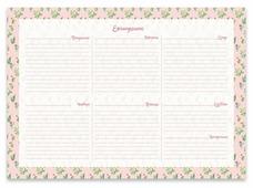 Планинг Феникс+ Цветущие кактусы недатированный, А4, 55 листов