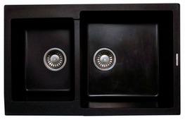 Врезная кухонная мойка LAVA D3 77.5х49см искусственный гранит