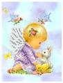 Канва для вышивания с рисунком Каролинка Друзья КБА-5014 15 х 21 см