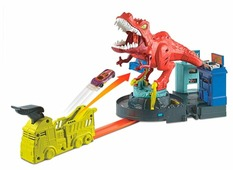 Трек Hot Wheels City T-Rex Rampage GFH88