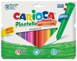 Carioca Мелки восковые Plastello maxi 12 цветов