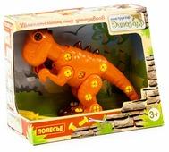 Винтовой конструктор Полесье Динозавры 77158 Тираннозавр (в коробке)