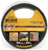 Клейкая лента металлизированная Aviora 302-017, 50 мм x 50 м