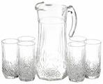 Набор Luminarc Brighton кувшин + стаканы 7 предметов