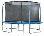 Каркасный батут Start Line Fitness 10FT с внутренней сеткой и лестницей 305х305 см