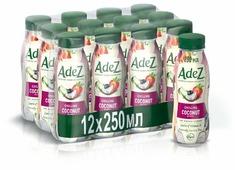 Кокосовый напиток Adez Освежающий кокос с ягодами 250 мл, 12 шт.