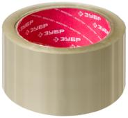 Клейкая лента упаковочная ЗУБР 12031-50, 48 мм x 60 м