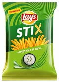 Lay's Чипсы Lay s Stix картофельные Сметана и лук